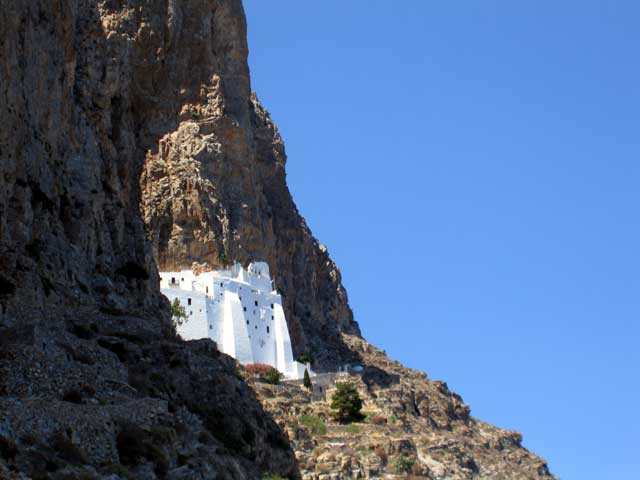AMORGOS PHOTO GALLERY - THE MONASTERY