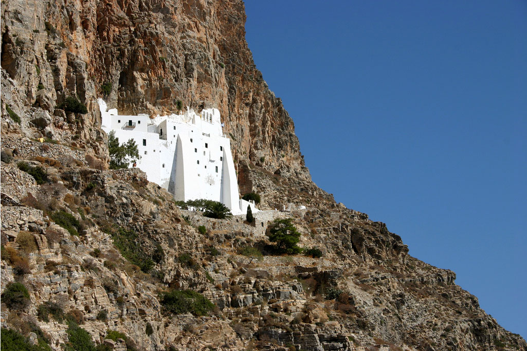 Hosoviotissa - Monastery of Panagia Hosoviotissa by Petit Breton