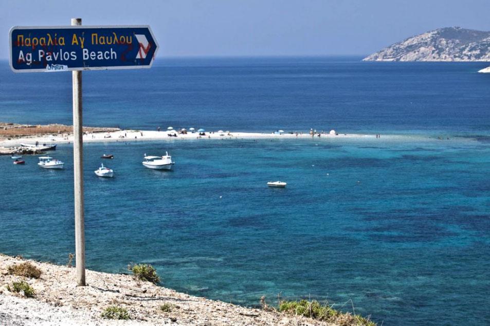 Agios Pavlos - Agios Pavlos beach by Panagis Chrysovergis