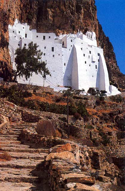 AMORGOS PHOTO GALLERY - MONASTERY OF HOZOVIOTISSA