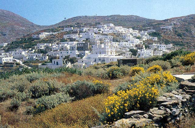 AMORGOS PHOTO GALLERY - THOLARIA VILLAGE