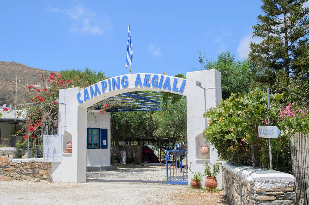 AEGIALI CAMPING IN  Aigialis, Amorgos